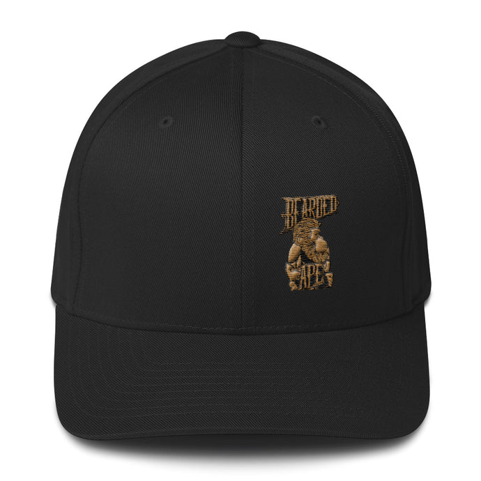 Old Gold Fitted Cap