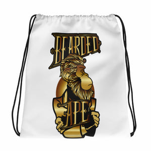 Bearded Ape Drawstring bag