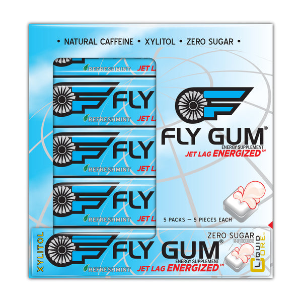 FLY GUM™ 5-Pack Passport
