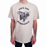 Mens-Animal-Vintage-Save-The-Bumblebee-T-Shirt-Wildlife-Wardrobe