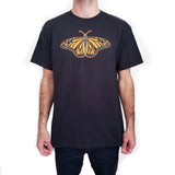 Mens-Animal-Vintage-Monarch-Butterfly-T-Shirt-Wildlife-Wardrobe
