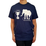 Womens-Animal-Vintage-Elephant-Not-A-Trophy-T-Shirt-Wildlife-Wardrobe