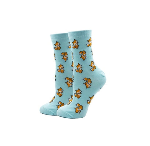 Fantastic-Fox-Novelty-Crew-Animal-Socks-for-Women-Wildlife-Wardrobe