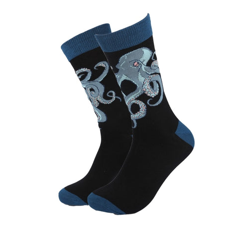 Octopus-Novelty-Crew-Animal-Socks-for-Men-and-Women-Wildlife-Wardrobe