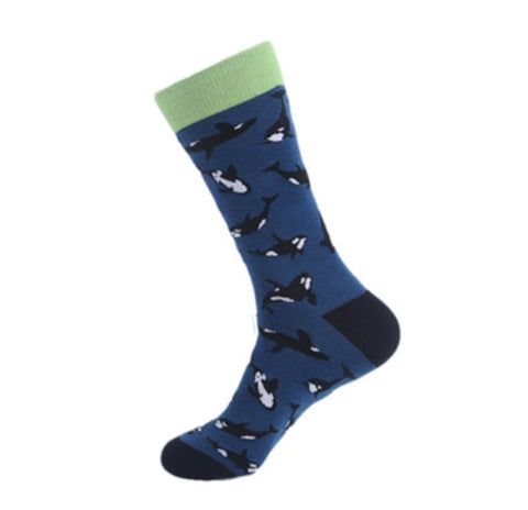 Orca-Killer-Whale-Novelty-Crew-Animal-Socks-for-Men-and-Women-Wildlife-Wardrobe