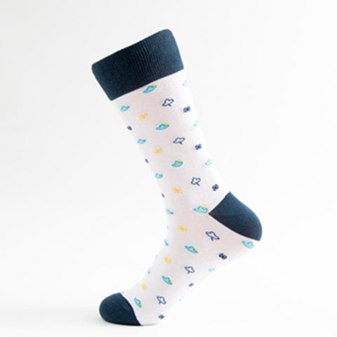 Wild-Weather-Rain-Snow-Sun-Thunder-Novelty-Crew-Socks-for-Men-and-Women-Wildlife-Wardrobe
