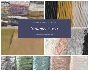 Munich Fabric Start summer 2020 trend forum
