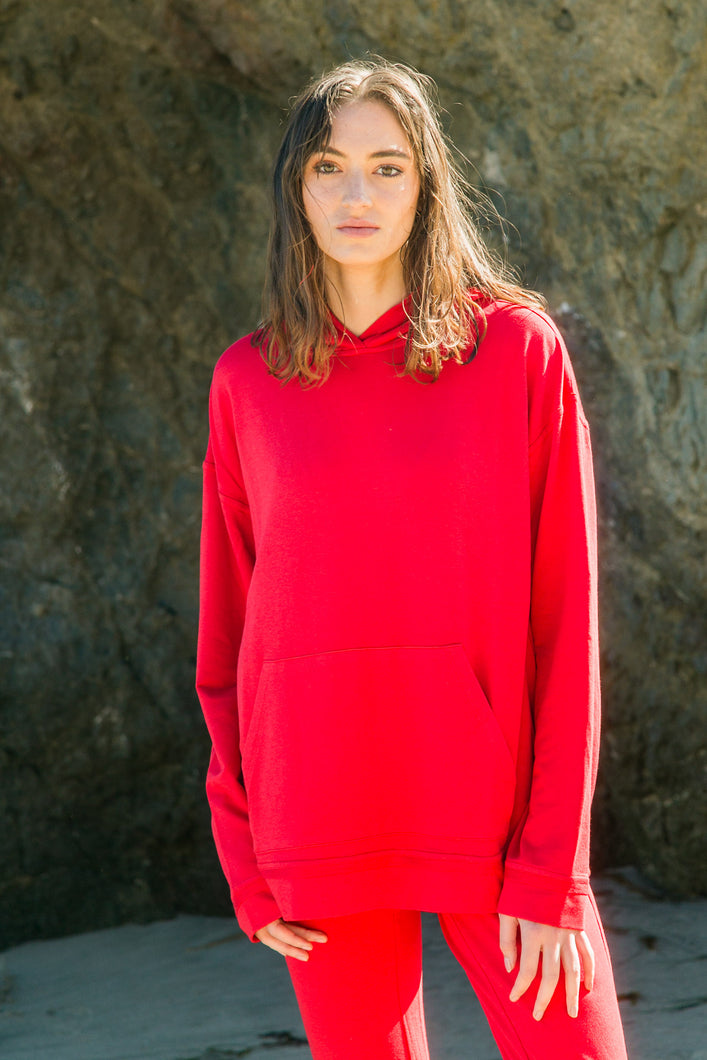 Rosso Red Hoodie
