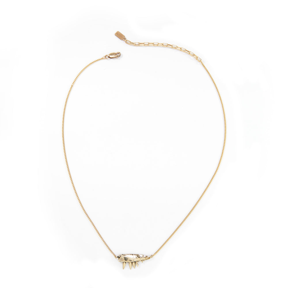 MICRO BITE necklace Gold