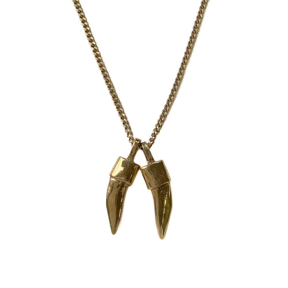 BARRACUDA TOOTH necklace