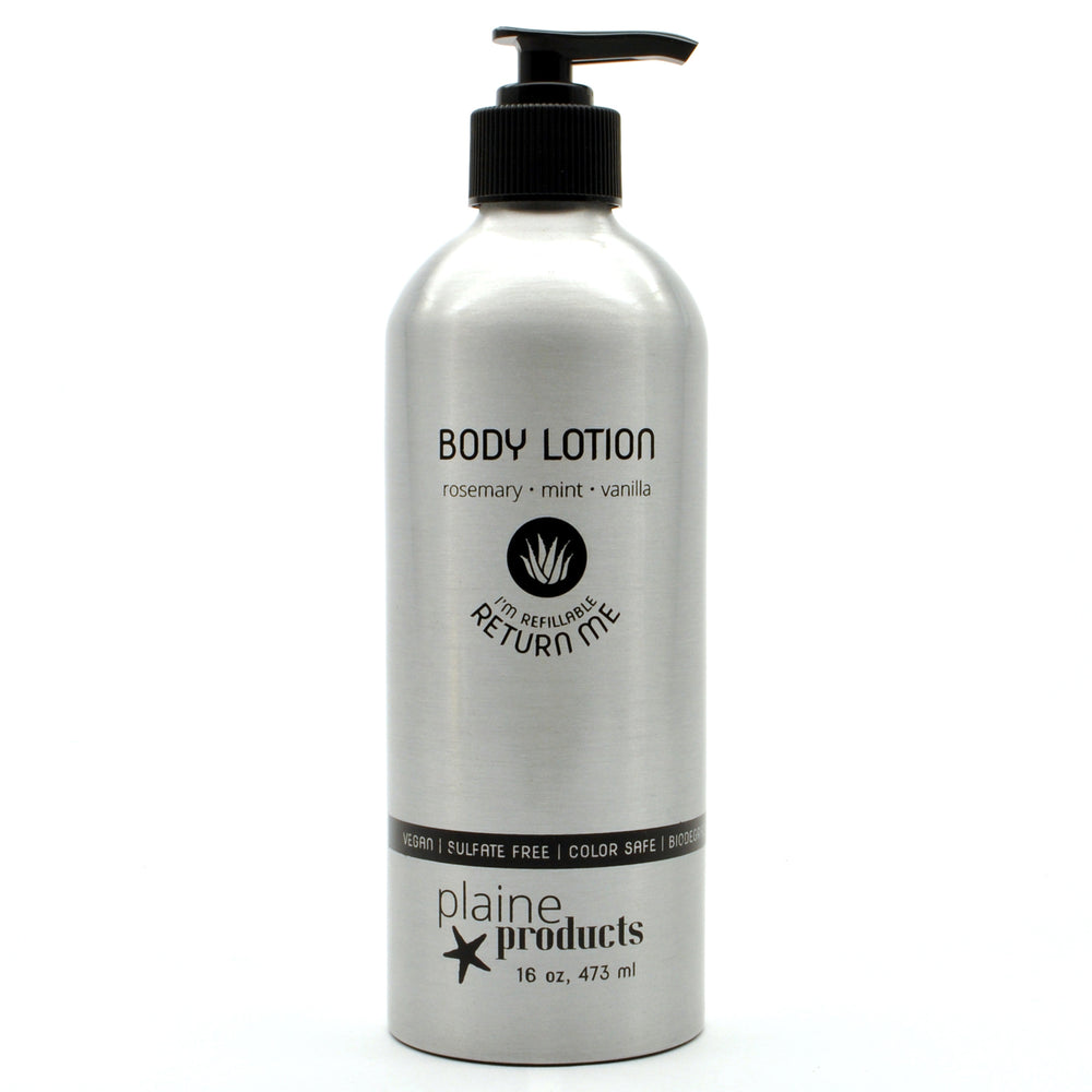Body Lotion - Rosemary, Mint, Vanilla