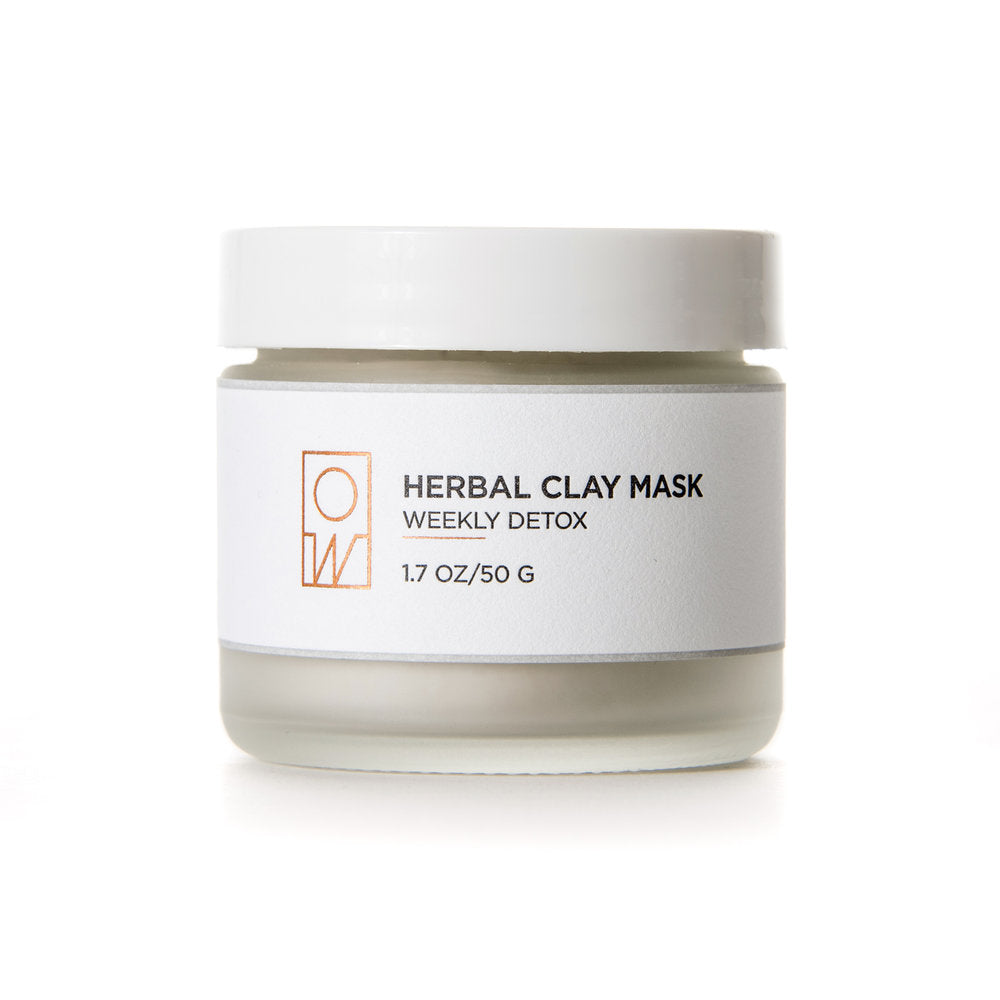 Oil + Water Herbal Clay Mask