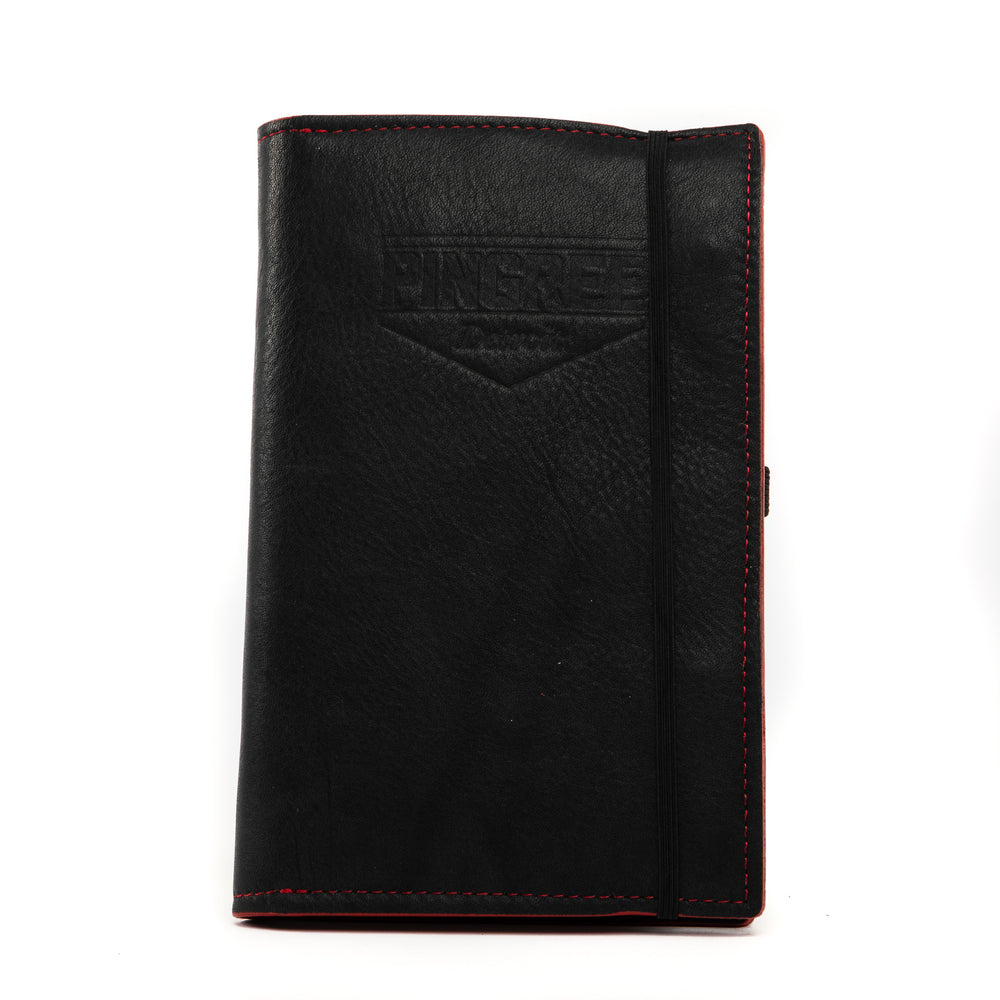 Pingree Moleskine Workfolio, Black & Red Accent