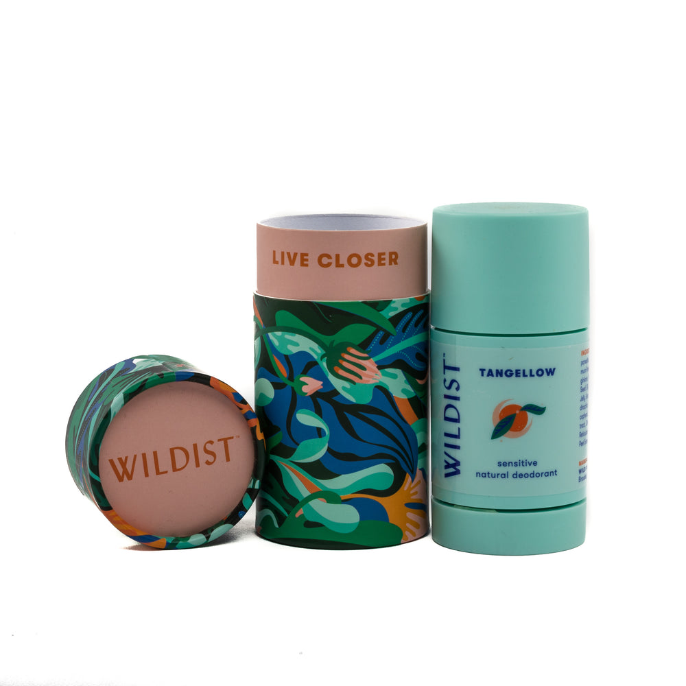 Wildist Tangellow Sensitive Natural Deodorant