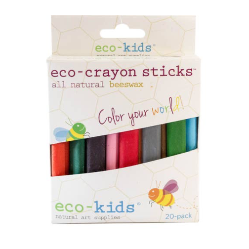 Eco-Crayon Sticks (20 Pack)