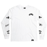 Plant Faced Plant Life Long Sleeve- White