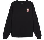 VGAN Crew Neck Sweater BLACK