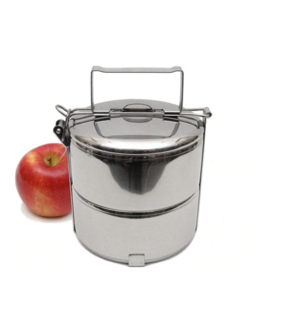 2-Tier Stainless Steel Tiffin