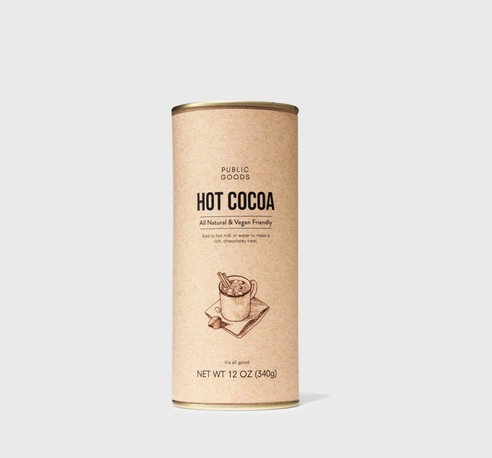 Public Goods Cocoa Mix – 12 oz