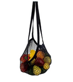 ECOBAGS String Bag Long - Black