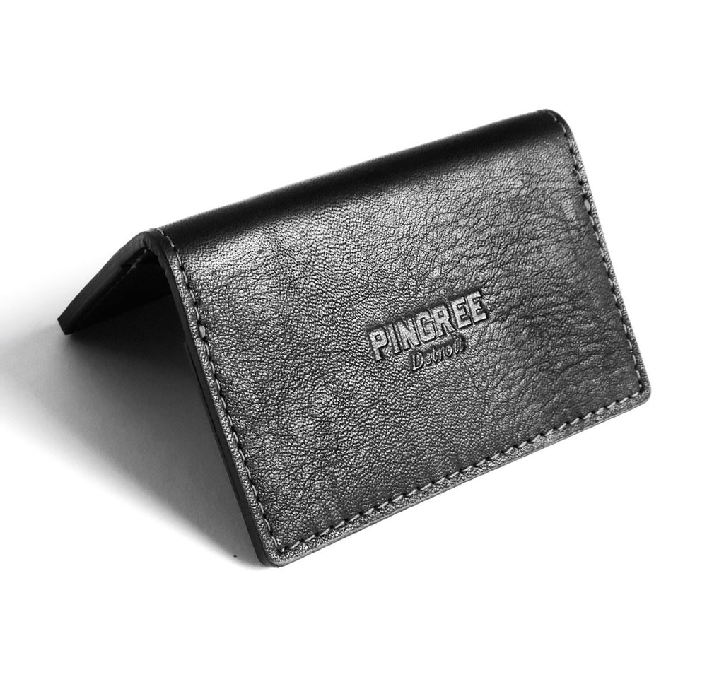 Concord Card Wallet & Business Card Holder: Black