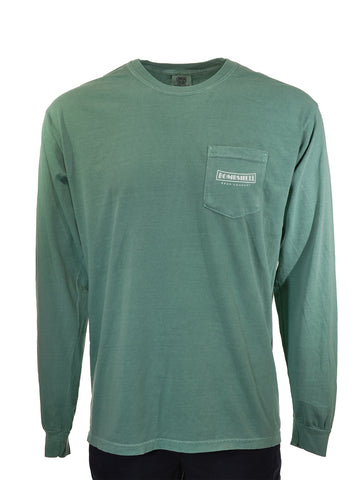 Long-Sleeve Heavyweight T-Shirt with Pocket