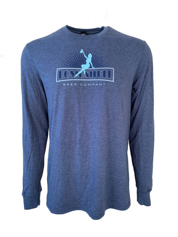 Men's Triblend Long Sleeve T-Shirt
