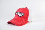 Vintage NC Red/White Hat