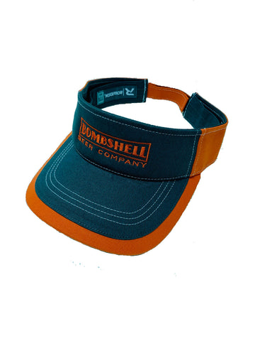 Gray / Orange Visor