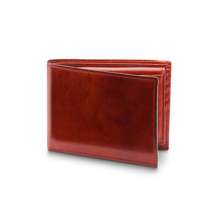 Red Brama Bifold Wallet