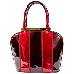 Red Patent Leather Brama Purse