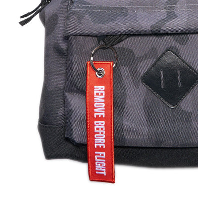 Rucksack/Backpack Camouflage Black