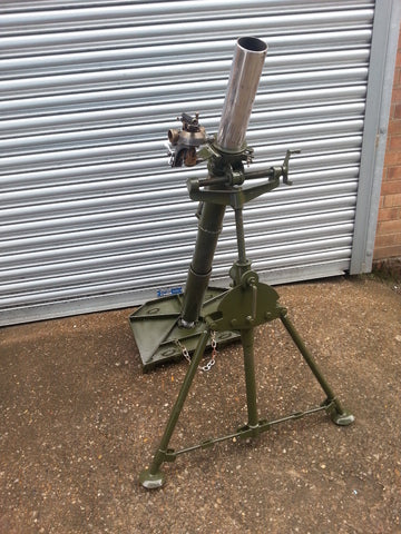 Elite Militaria Simulated WWII British 3 inch Mortar - Blank Fire