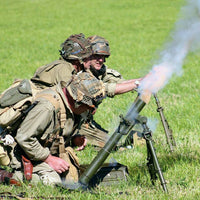 Elite Militaria - Simulated WWII American M1 60mm Mortar - Blank Fire