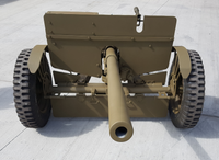 Elite Militaria Simulated WWII American M1-37mm Artillery Gun - Blank Fire.
