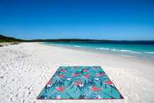 Load image into Gallery viewer, Quicksand Mat Sandlite - Pink Flamingo 1.5m x 1.5m