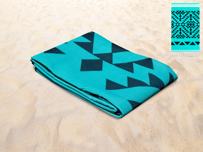 Quicksand Mat Sandlite - Green Triangle 2.0m x 2.0m