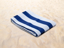 Load image into Gallery viewer, Quicksand Mat Sandlite - Navy Stripe 1.5m x 1.5m