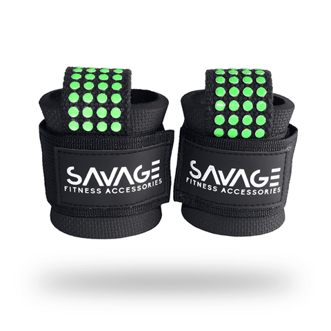 Padded Lifting Straps - Savage Fitness Accessories