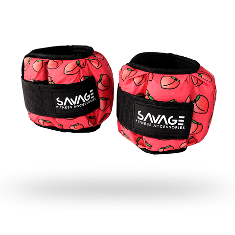 Peachy Ankle Weights - Savage Fitness Accessories