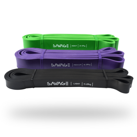 Power Bands,3 Pack,Savage Fitness Accessories.