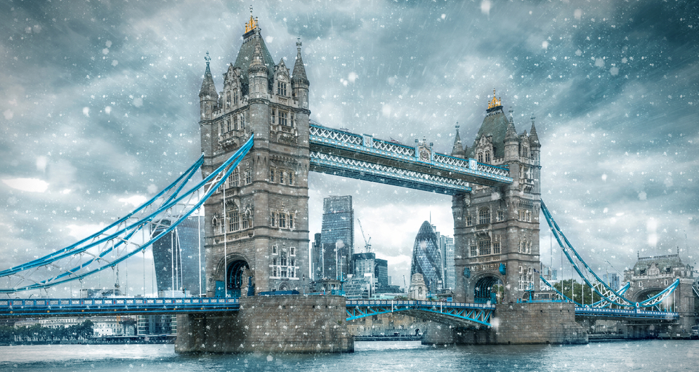LONDON WINTER 2020 IS HERE