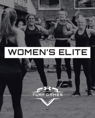 SUMMER 2020 - ELITE WOMEN'S TEAM ENTRY