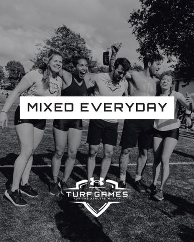 SUMMER 2020 - EVERYDAY MIXED TEAM ENTRY