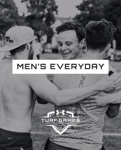 SUMMER 2020 - EVERYDAY MEN'S TEAM ENTRY