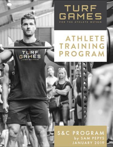 Athlete Training Program with Sam Pepys