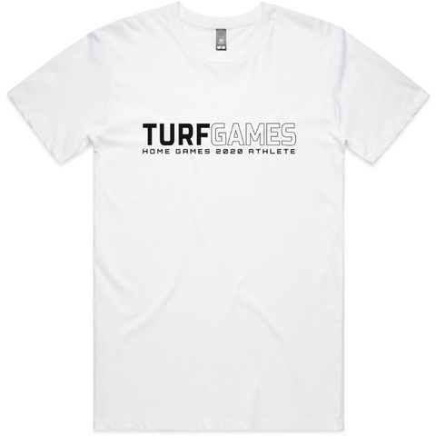 Men's White HOME GAMES Athlete Tee
