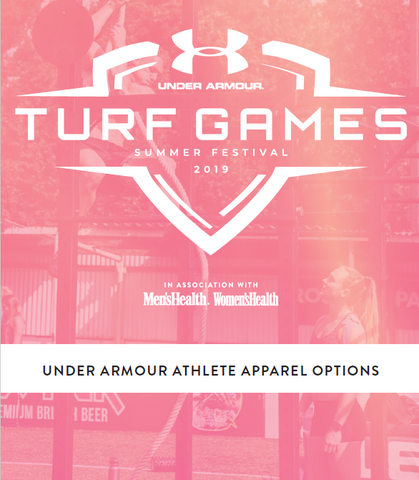UNDER ARMOUR TURF GAMES TEAM APPAREL x 10 Tees / Tanks