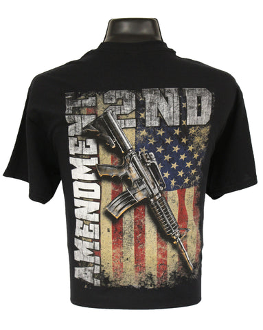 6167 - Southern Addiction 2nd Amendment T Shirt