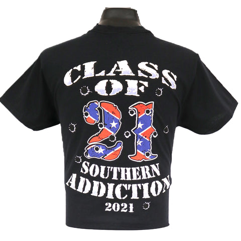 6190 - Southern Addiction Class of 21 T Shirt